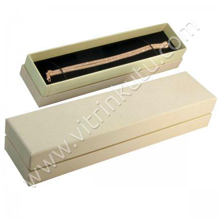 Karton Bileklik Kutusu  21.5x5 cm  Lüx   2000B