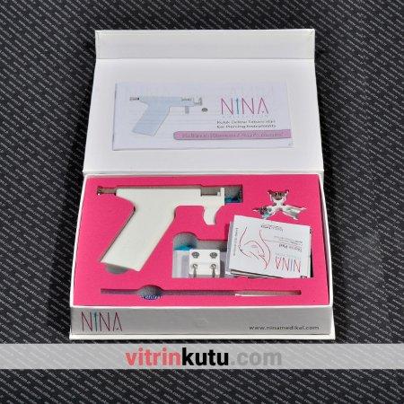 Kulak Delme Tabancası Nina 20x18 cm Takım
