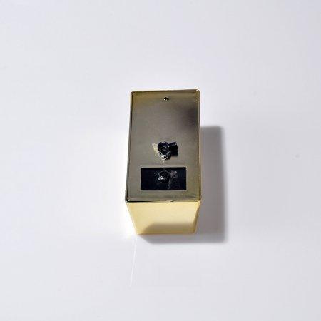 Para Kumbarası 15x5 cm  Sert Mika Anahtarlı Külçe Altın