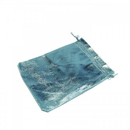 Lame Takı Kesesi 13x18 cm Gümüş 100'lü Paket