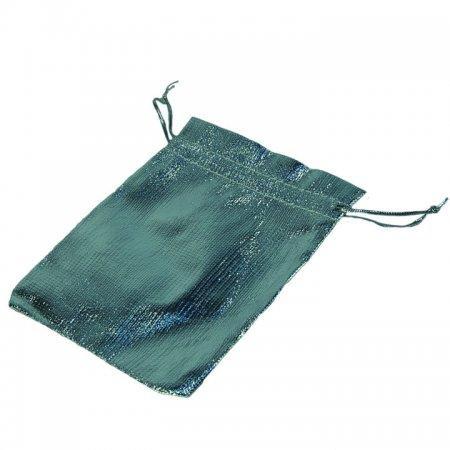 Lame Takı Kesesi 10x12 cm Gümüş 100'lü Paket