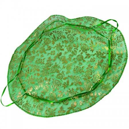 Tül Kese Hediyelik 27 cm Çap  100'lü Paket Yeşil