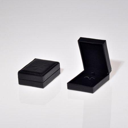 Deri Set Takı Kutusu 7x9 cm Üzeri Dikişli