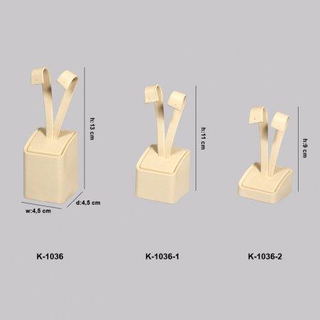 Kuyumcu Kare Küpe Standı  K-1036