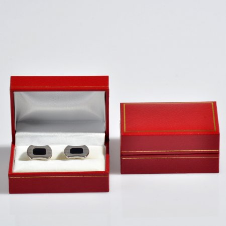 Kol Düğmesi Kutusu 7.5x5 cm Kırmızı Kartier