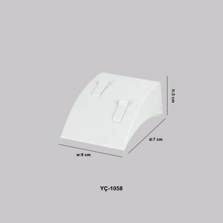 Çift Alyans Yüzük Standı Eğimli YC-1058