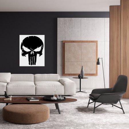 Punisher Cezalandırıcı Duvar Süsü