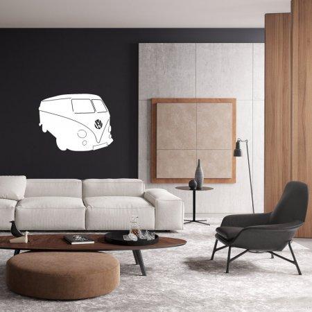 Dekoratif Volkswagen Tosba Minübüs Duvar Süsü
