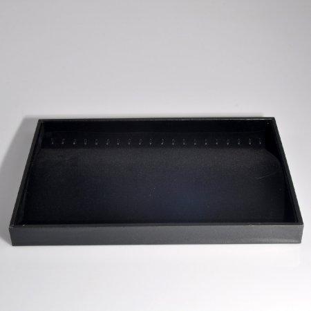 25x35 Bileklik Tablası  Siyah Süet