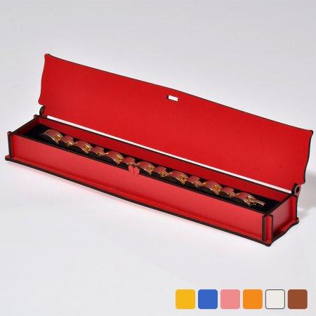 Lazer Kesim İnce Bileklik Tespih Takı Kutusu 24x5 cm