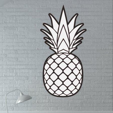 Dekoratif Ananas Tasarım Mutfak Süsü