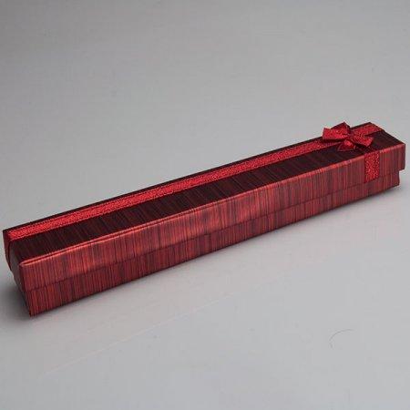 Bileklik Kutusu Karton Kırmızı Uzun