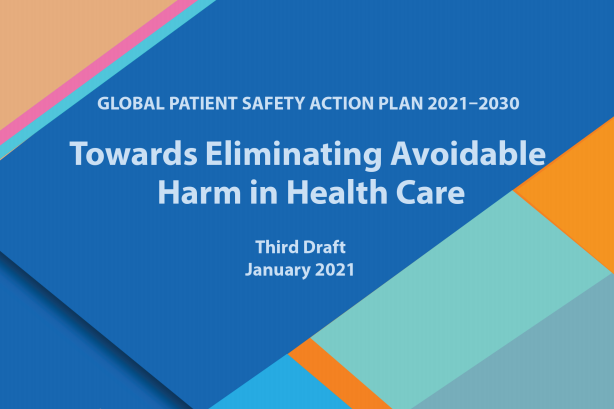 Global Patient Safety Action Plan Third Draft Main Image
