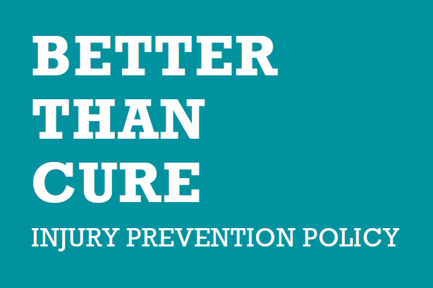 IPPR Report Better Than Cure