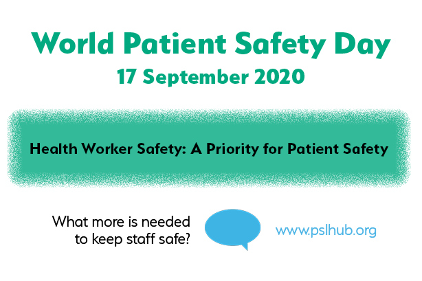 Why is staff safety a patient safety issue?