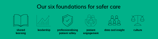 Our six foundations for safer care