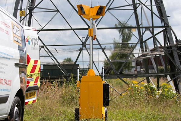 Vps Alert Tower Mobiler Drahtloser Alarmtower