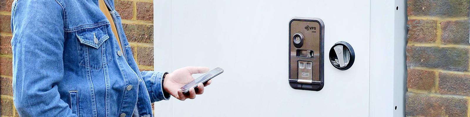 Das Verbaute Bluetooth Vps Smartlock Erlaubt Eine Intuitive Ent Und Verriegelung