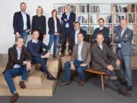 Left to right: Christian Sibilde, Geert Vanoverschelde, François Couvreur, Dominique Delbrouck, Bulle Leroy, Grégoire de Jerphanion, Luigi Bellello, Didier Peremans, Olivier Callebaut, Vincent Dupont, Dirk Bigaré.
