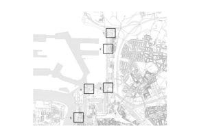 1. Havana   2. Luchtbal   3. Tjalk   4. Straatsburgbrug   5. Batavia