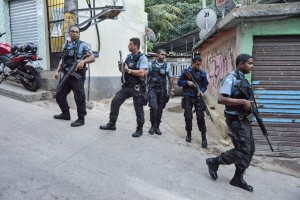 Pacifying Police Units operation in Rio