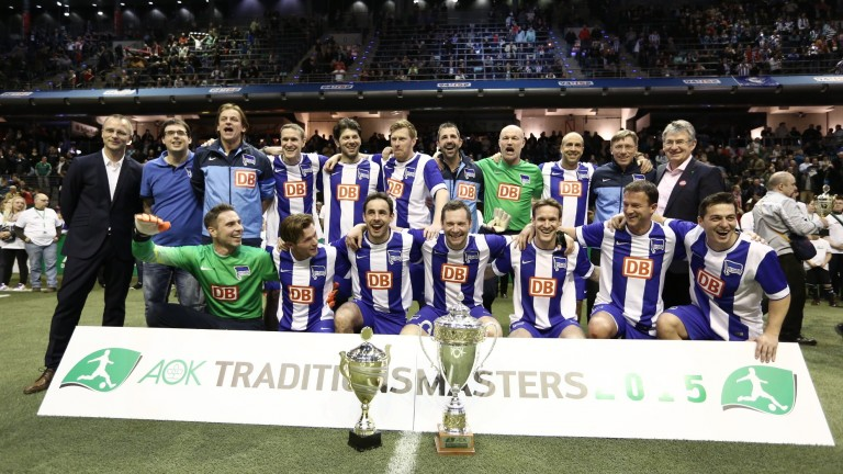 AOK Traditionsmasters Hertha Sieger 2015
