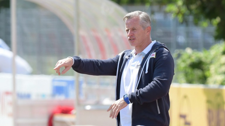 Trainer Jens Keller startet mit Union in sein erstes Trainingslager mit dem Klub (Foto: City-Press GbR)