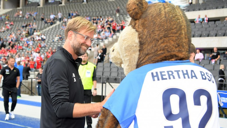 hertha liverpool live