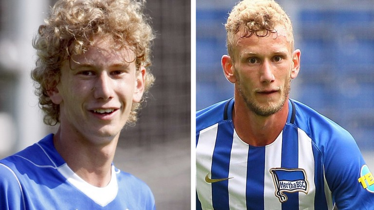 Fabian Lustenberger 2007 und 2017 (Foto: picture alliance / augenklick/fi)