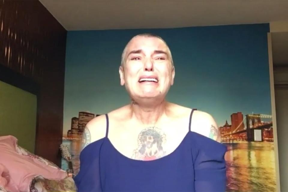 Sinéad O'Connor droht in einem Motel in New Jersey mit Suizid