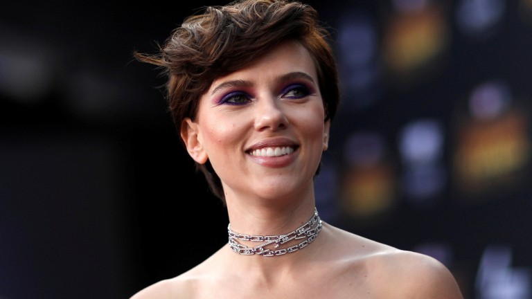 "Scarlett Johansson bei der ""Avengers: Infinity War""-Premiere in Los Angeles im April 2018"