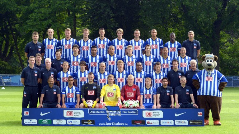 Hertha BSC - Teamfoto