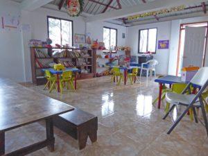 Der Krippenraum des Waisenhauses