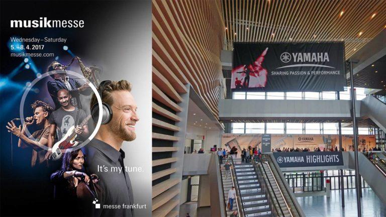 Die Musikmesse Frankfurt findet vom 5. April bis 8. April zwischen 10 und 18 Uhr statt