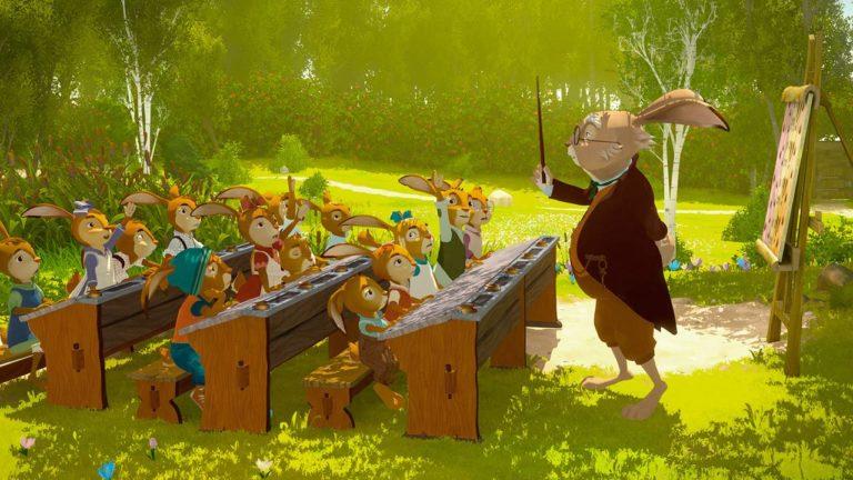 """Der Kinderbuchklassiker """"Die Häschenschule"""" ist die Basis dieses Animationshighlights, welches gekonnt Tradition mit Moderne verknüpft"""