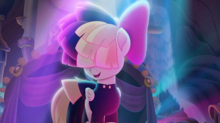 In MY LITTLE PONY muss Einhorn Twilight Sparkle ganz Ponyville retten