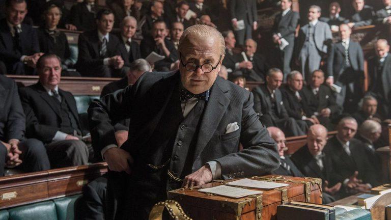 """Gary Oldman als Winston Churchill in """"Die dunkelste Stunde"""""""