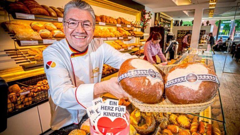 Bäckermeister Heinz Hoffmann (57) aus München macht mit!