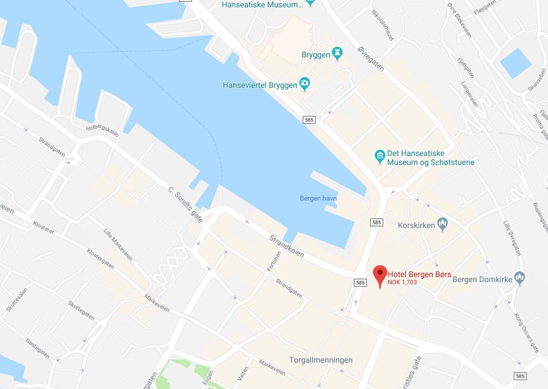 De Bergenske på Google Maps
