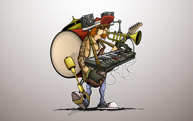 one-man-band