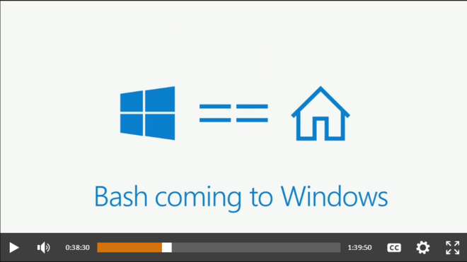 Using Bash in Windows - today