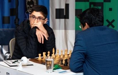 Prague Masters 2-3: Vidit leads, Firouzja's 1st win