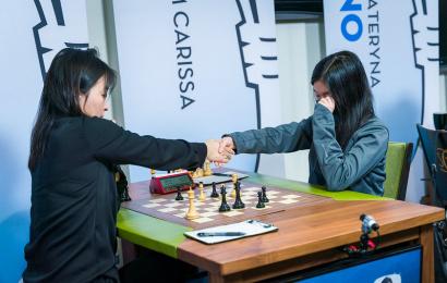Cairns Cup 7-8: Carissa Yip beats World Champion