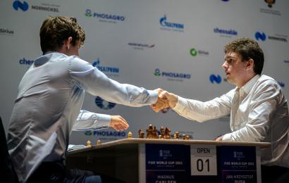 FIDE World Cup 7.3: Duda takes down Carlsen