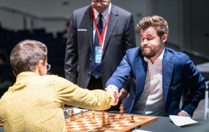 "GCT Finals 5: Carlsen's ""harrowing escape"""