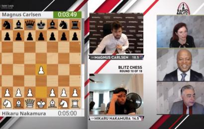 Carlsen & So share 1st in St. Louis Rapid & Blitz