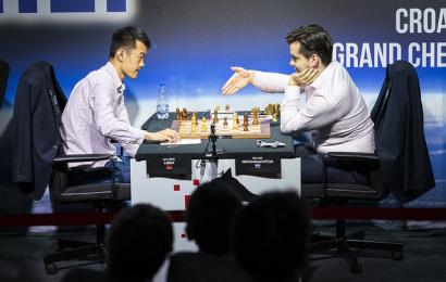 Croatia GCT 6: Carlsen and So catch Nepo