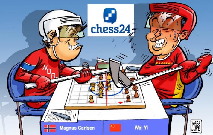 Tata Steel Chess 2017, Runde 4: Carlsen bändigt Wei Yi