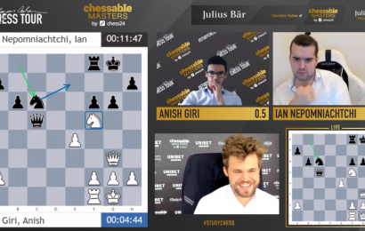 Chessable Masters 11: Magnus in the final