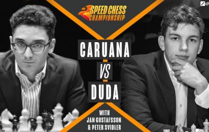 Duda Blows Caruana Away In Bullet Chess Chess24 Com